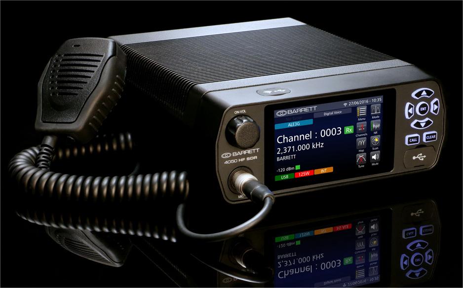 宝丽4050 全能软件化短波电台发布通知